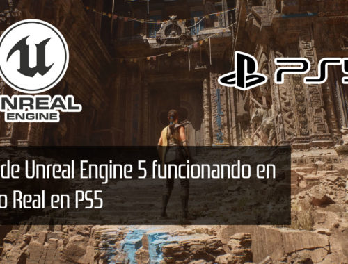 unreal engine 5 demo en tiempo real en ps5