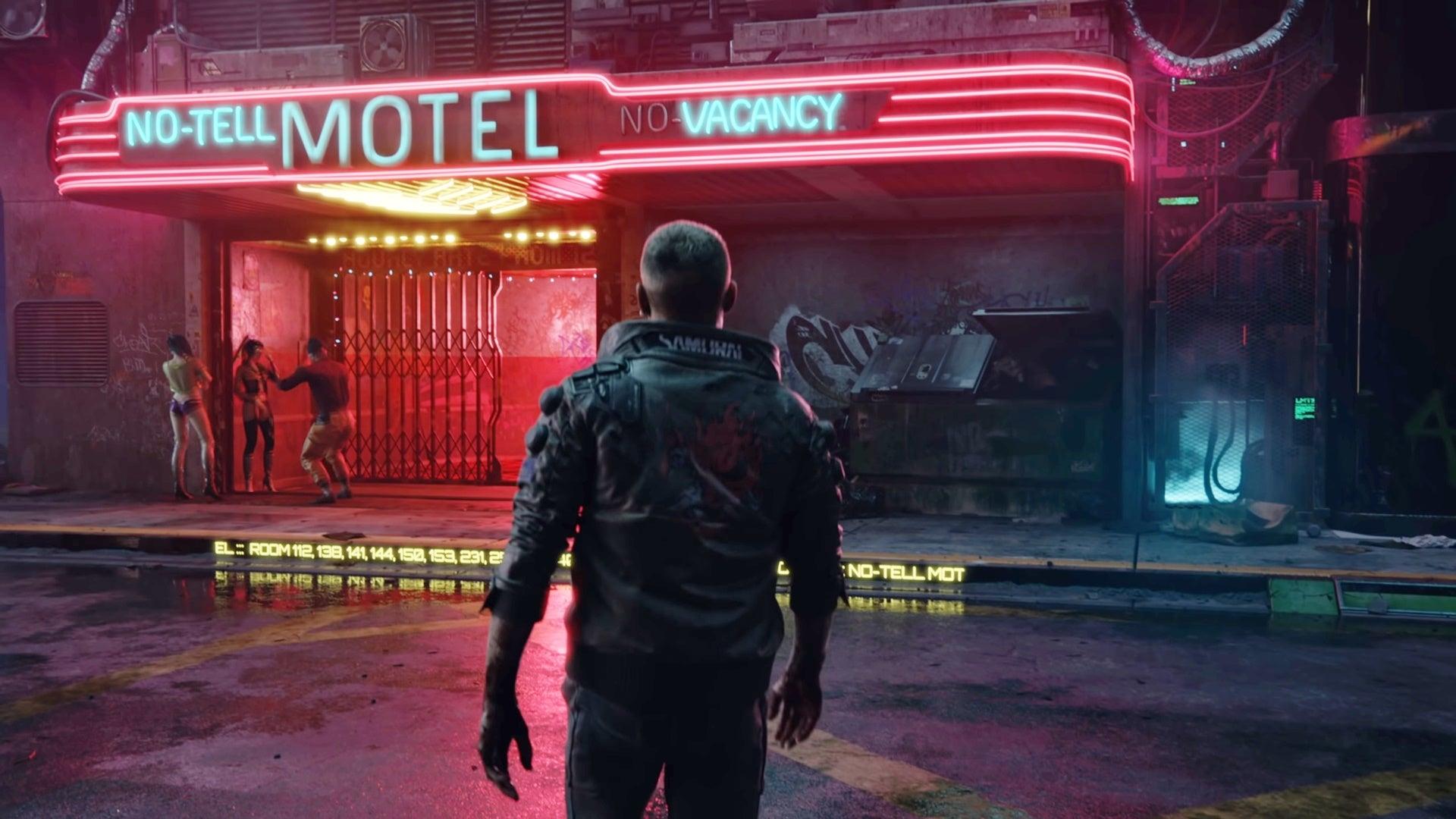cyberpunk motel