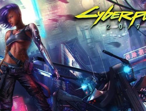 Cyberpunk chica