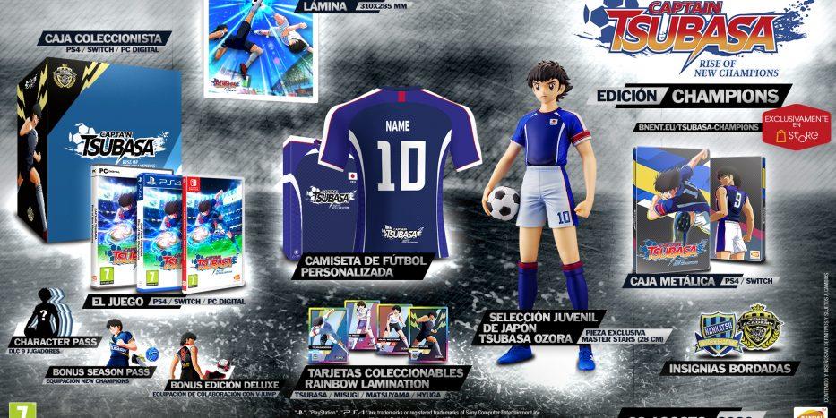 captain tsubasa rise of new champions - edicion champions