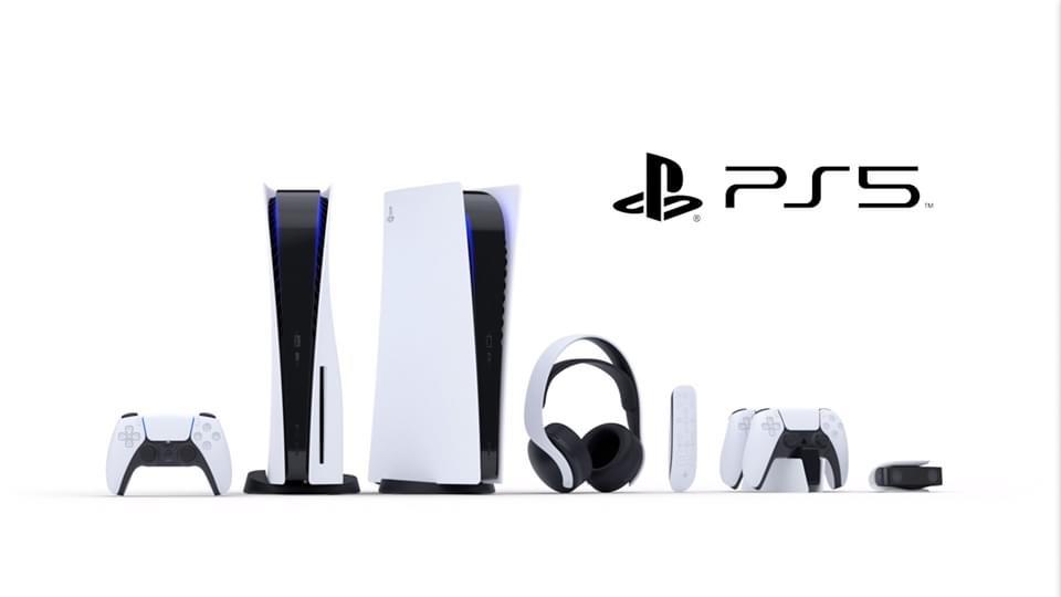 PlayStation 5 con todos los accesorios