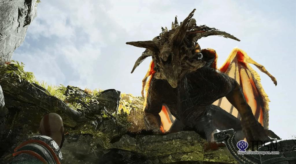 dragon Fafnir god of war