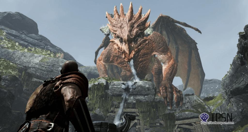 dragon Otr god of war