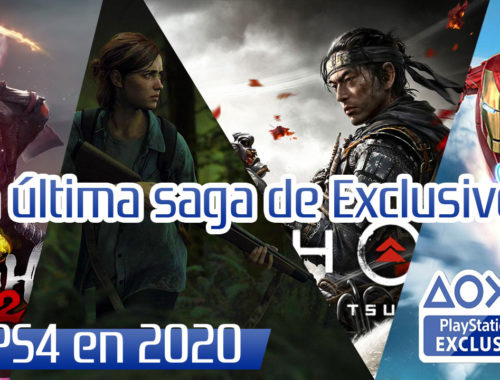 ultimos exlusivos de ps4 en 2020