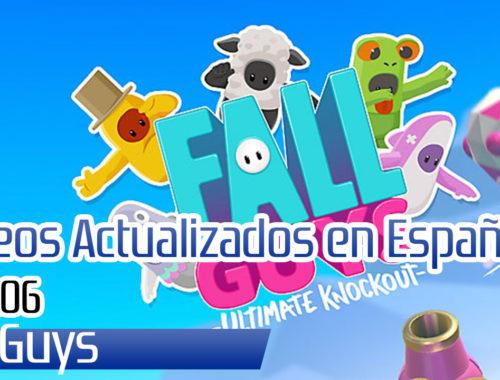 Fall Guys trofeos actualizados al español