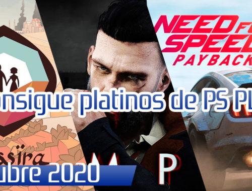 Guias de trofeos ps plus octubre 2020 platinos al 100%