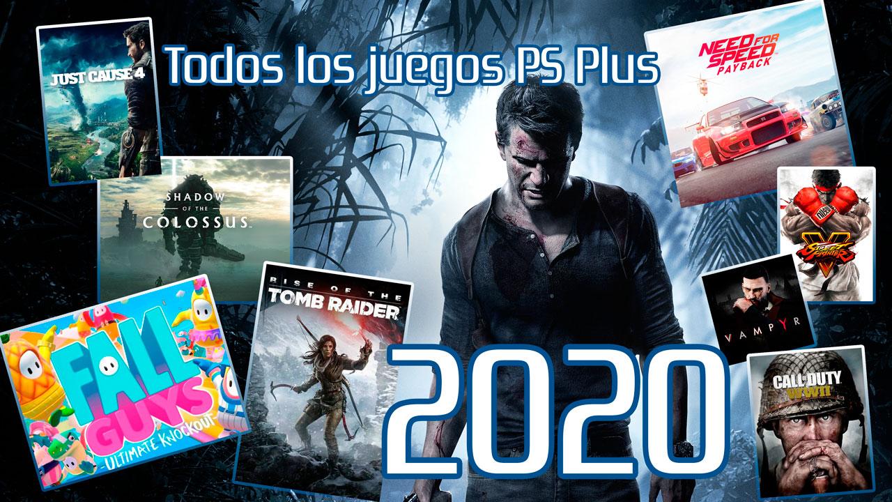 Juegos PS Plus en 2020