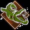 Trofeo Carne de caimán - Maneater