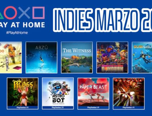 PLAY AT HOME MARZO 2021 JUEGOS INDIES