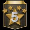 Trofeo Año cinco estrellas - Tennis World Tour 2