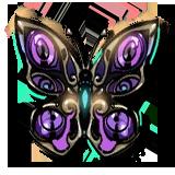 Mariposa perforada - Recuerdo Tánatos - Hades