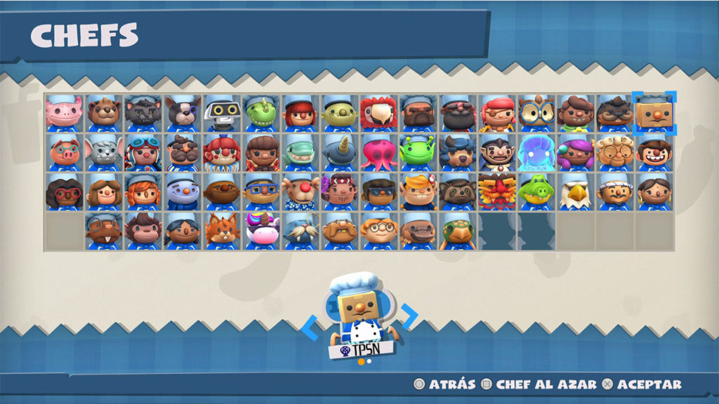 Overcooked all can you eat - cHEF-BOXHEAD